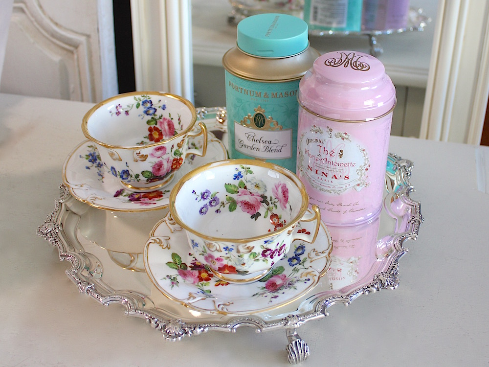 花の季節の紅茶