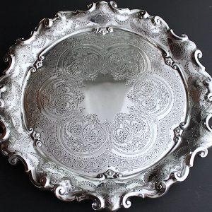 Sold  純銀♦︎ビクトリアンサルヴァ 31cm