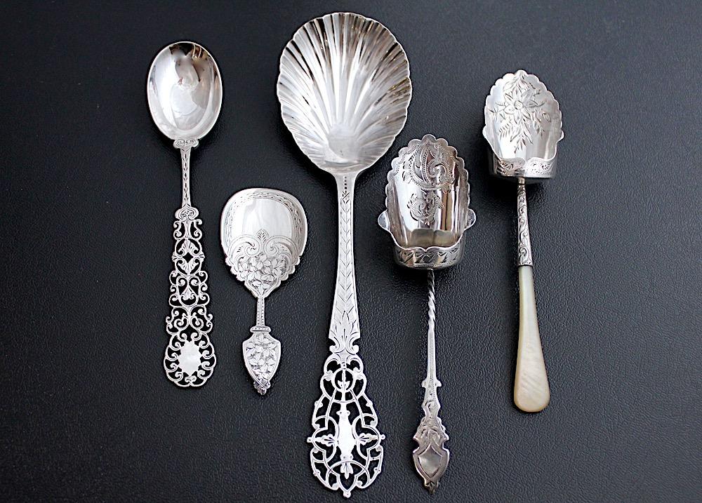 Sold:ピアスティースプーン単品 1890年エジンバラ
