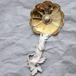 Sold キャディスプーンアネモネ H&T バーミンガム 1855年