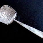 Sold : 1814年ジョージアン キャディスプーン白蝶貝