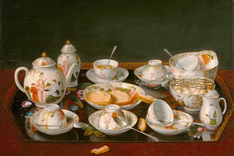 1783年、リオタールによるティータイム絵画